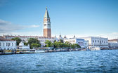 View on tower on San Marco square in Venice — Stock Photo
