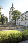 The baroque church of Sts. Michelangelo and Stanislaus - Skalka — Stock Photo