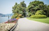 Park in Lugano — Stock Photo