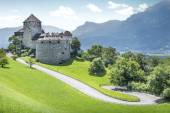 Medieval castle in Liechtenstein — Stock Photo