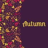 Autumn falling leaves background.Can be used for wallpaper,design of invitation,card, web page background, for cover notebook, diary, for fashion design, for design of utensils ,etc — Stock Vector