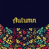 Autumn falling leaves background.Can be used for wallpaper,design of invitation,card, web page background, for cover notebook, diary, for fashion design, for design of utensils ,etc — Wektor stockowy