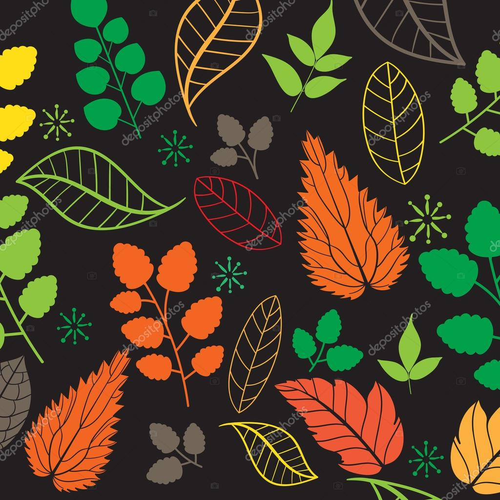Autumn pattern wallpaper