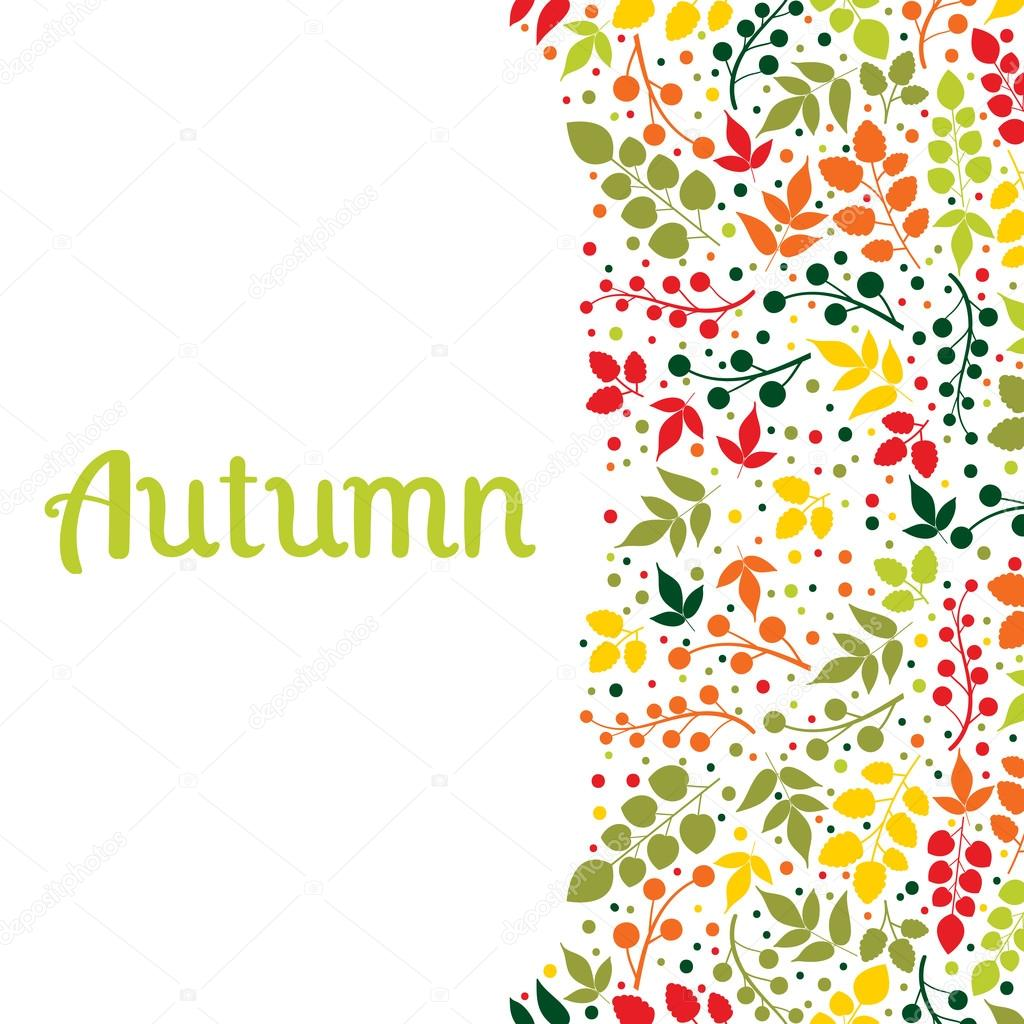 autumn falling leaves background can be used for design can be used for design of invitation card web page background for cover notebook diary for fashion design for design of utensils etc