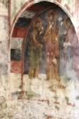 Wall in Saint Nikolay's church — Foto de Stock