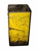 Lata velha de óleo — Fotografia Stock