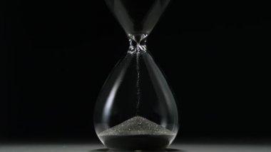 Hourglass slowmotion — Stock Video