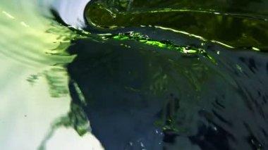 Colored water splash — Stock Video