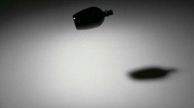Black bottle splits — Wideo stockowe