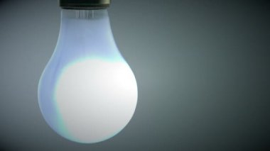Light bulb blowing out — Vidéo
