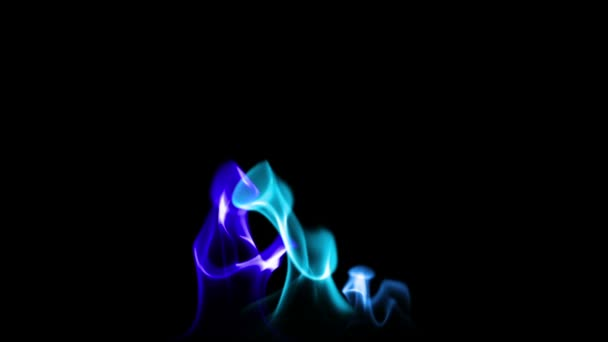 Cerca de la llama de fuego — Vídeo de stock