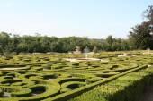 Castle's garden — Stock Photo