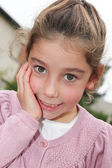 Little young girl — Stock Photo