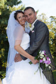 Weddind lovely day — Stock Photo