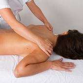 Massage with hand — Foto de Stock