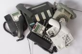 Old phone to recycle — Fotografia Stock