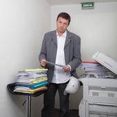 Man at work — Stock Photo