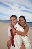 Okyanus düğün kumsalda — Stok fotoğraf