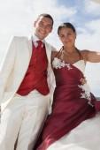 Wedding love beach — Stock Photo
