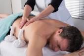 Thai massage for man — Stock Photo