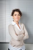Woman on business — Stock Photo