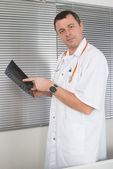 View of a doctor — Stock Photo