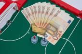 Money and sport — Stock Photo