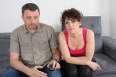 Man and woman, complicity — Stock Photo