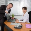 Two people at work — Stock Photo #67258915