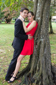 Nice and romantic lovely couple — Stock Photo