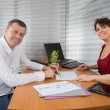 Cheerful business people — Stock Photo #69483115