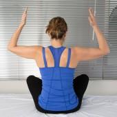 Kadın meditasyon — Stok fotoğraf