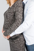Pareja espera un bebé — Foto de Stock