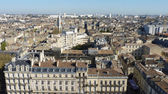 Aerial view from Bordeaux — Stock Photo