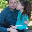 Father and daughter — Stock Photo #71112007