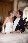 素敵な結婚式のカップル — ストック写真