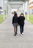 студенты университета — Стоковое фото