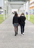 Universitetsstuderande — Stockfoto