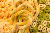 Marshmallows a želé fazole sladkosti v pastelových tónech — Stock fotografie