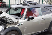 Disassembling windshield — Stock Photo