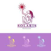 Women logotype template — Stock Vector