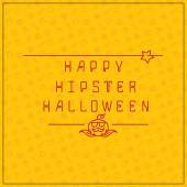 Halloween background with inscription — Stock Vector