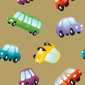 Baby toy cars — Stock Vector
