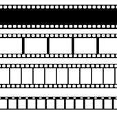Vector film strip illustration. — Stock Vector