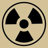 Radiation Sign — Stock Vector