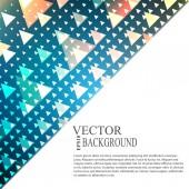 Abstract blauwe lichte sjabloon achtergrond — Stockvector