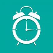 ícone de relógio vector — Vetor de Stock