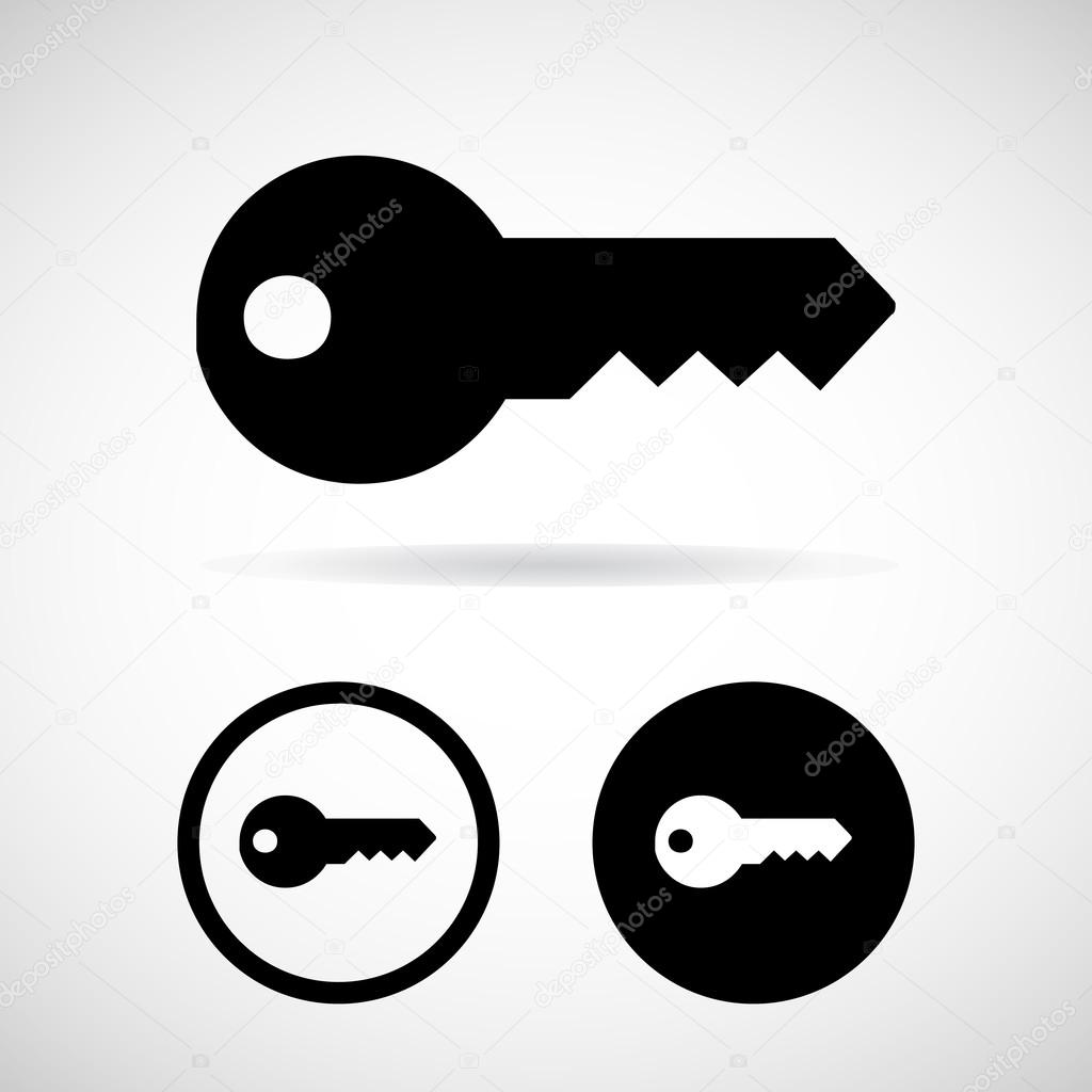 Vector Key Illustration: Stock Vector © Yayha #67223727