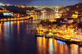 Porto in the night — Stock Photo