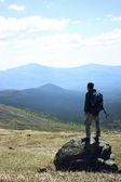 In den bergen — Stockfoto